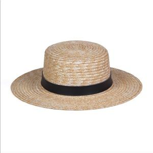 78d80a84d5ea8 Lack of Color Spencer Boater Hat. Size S (55cm)